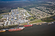 International-Matex Tank Terminals along the Mississippi River know as 'Cancer Alley', next to St. Rose, Lousiiana.