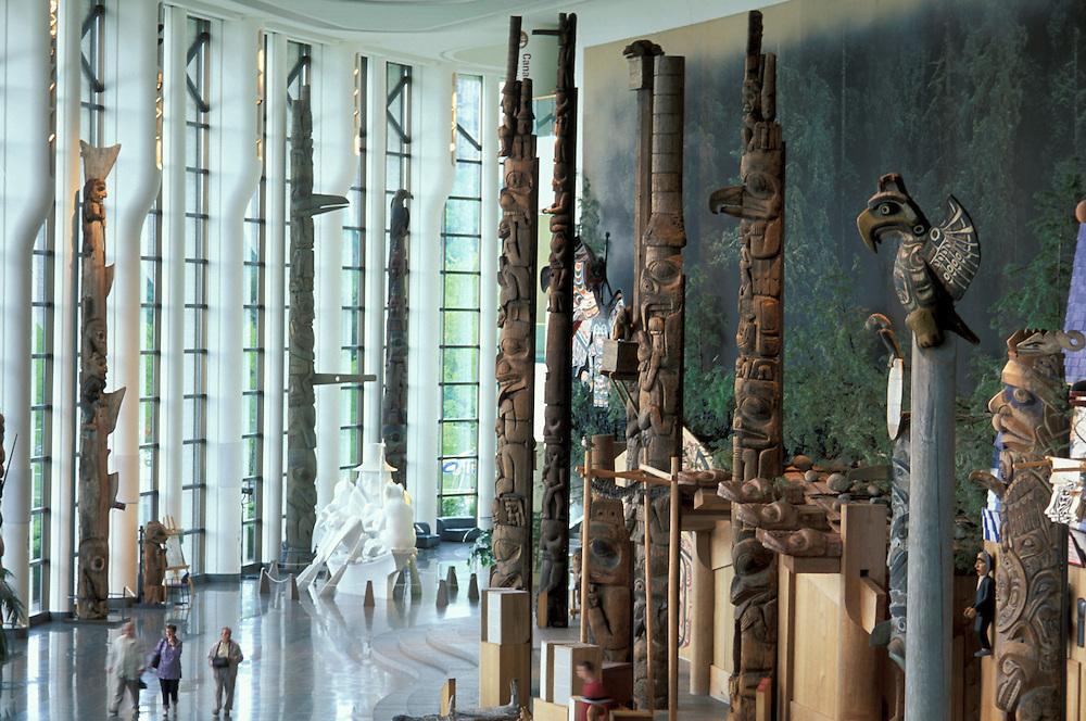 Museum of Civilisation, Ottawa, Ontario, Canada