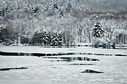 Frozen Lake at Frances Slocum State Park, by Darren Elias Photography