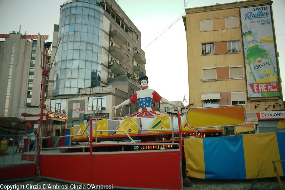 Tirana city centre.