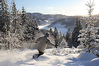 Ski history from Morgedal, Norway <br /> photos that capture the ski heritage from this valley which is the birthplace of ski sport.