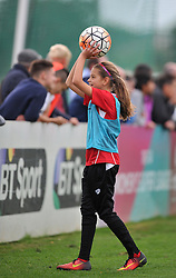 Ball girl at Bristol City Women v Durham Ladies - Mandatory by-line: Paul Knight/JMP - 24/09/2016 - FOOTBALL - Stoke Gifford Stadium - Bristol, England - Bristol City Women v Durham Ladies - FA Women's Super League 2