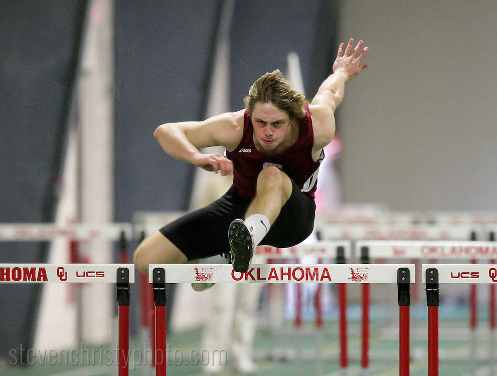 January 26, 2013: The Oklahoma Christian University Eagles participate in the UCO Indoor Invitational at the Mosier Indoor Facility on the campus of the University of Oklahoma.
