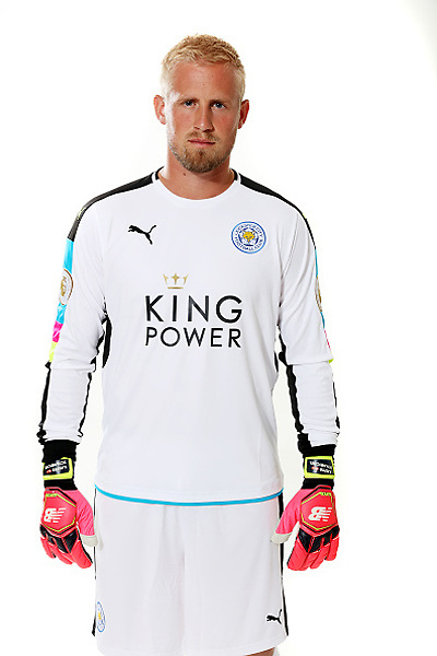 LEICESTER, ENGLAND - JULY 21: Kasper Schmeichel during Leicester City Official Portraits at Belvoir Drive Training Complex on July 21 , 2016 in Leicester, United Kingdom.  (Photo by Plumb Images/Leicester City FC via Getty Images)