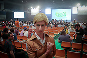 Cosplay fans in the audience at the World Cosplay Summit 2018.
