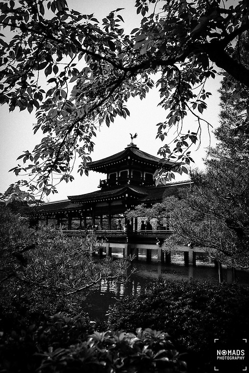The Heian Shrine is a Shinto shrine located in Sakyō-ku, Kyoto, Japan. The Shrine is ranked as a Beppyou Jinja (the top rank for shrines) by the Association of Shinto Shrines. <br />