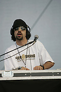 June 17, 2006; Manchester, TN.  2006 Bonnaroo Music Festival. Cypress Hill performs at Bonnaroo 2006.  Photo by Bryan Rinnert