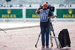 TV Broadcast - Team Competition Grade III Para Dressage - Alltech FEI World Equestrian Games™ 2014 - Normandy, France.<br /> © Hippo Foto Team - Jon Stroud <br /> 25/06/14