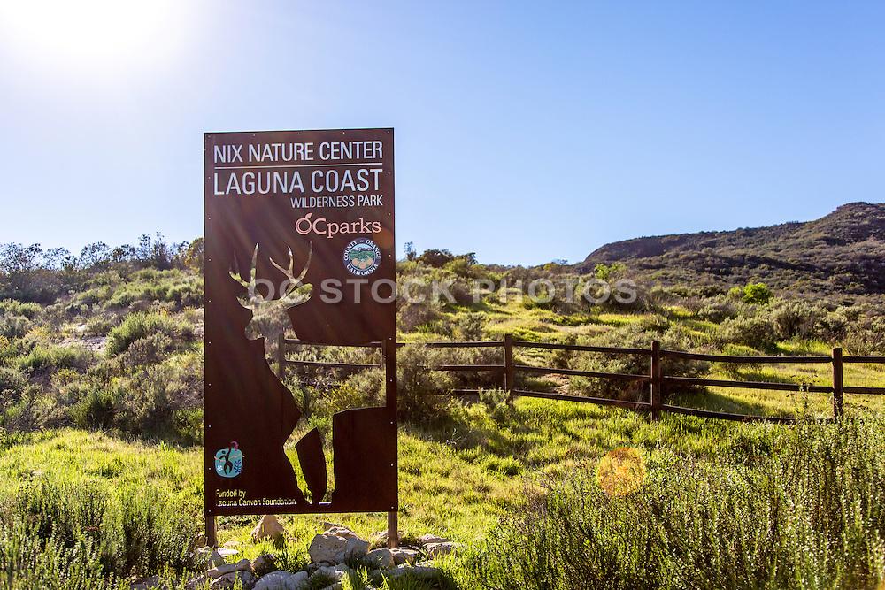 Nix Nature Center at Laguna Coast Wilderness Park in Orange County California