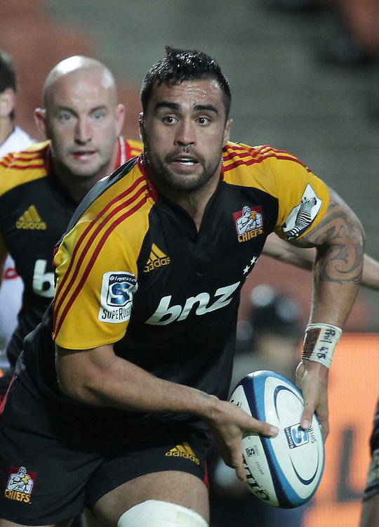Chiefs' Liam Messam in action against the Sharks in a Super Rugby match, Waikato Stadium, Hamilton, New Zealand, Saturday, April 27, 2013.  Credit:SNPA / David Rowland