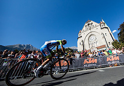 Jan Polanc of Slovenia during the Men Elite Road Race at 258.5km Race from Kufstein to Innsbruck 582m at the 91st UCI Road World Championships 2018 / RR / RWC / on September 30, 2018 in Innsbruck, Austria. Photo by Vid Ponikvar / Sportida