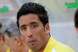 25.03.2012, Rhein Energie Stadion, Koeln, GER, 1. FBL, 1.FC Koeln vs Borussia Dortmund, 27. Spieltag, im Bild Lucas BARRIOS (BVB Borussia Dortmund #18) Portrait - blickt in die Kamera // during the German Bundesliga Match, 27th Round between 1.FC Koeln and Borussia Dortmund at the Rhein Energie Stadion, Koeln, Germany on 2012/03/25. EXPA Pictures © 2012, PhotoCredit: EXPA/ Eibner/ Gerry Schmit..***** ATTENTION - OUT OF GER *****