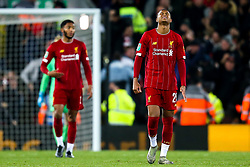 Rhian Brewster of Liverpool cuts a frustrated figure - Mandatory by-line: Robbie Stephenson/JMP - 30/10/2019 - FOOTBALL - Anfield - Liverpool, England - Liverpool v Arsenal - Carabao Cup