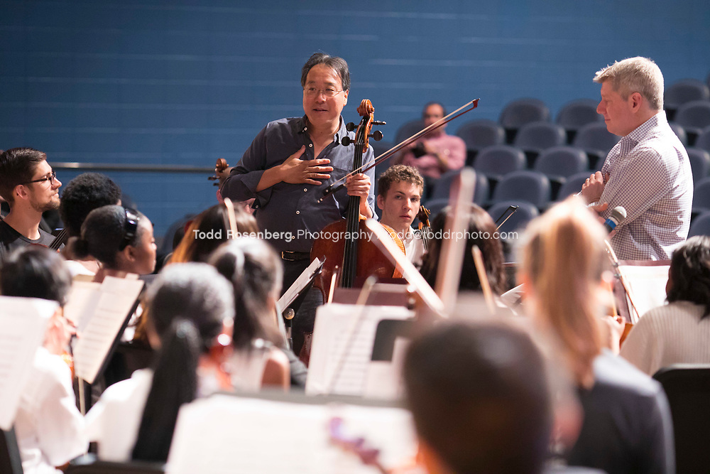 6/9/17 12:26:01 PM<br /> The Negaunee Music Institute<br /> Yo-Yo Ma at Kenwood Academy<br /> <br /> &copy; Todd Rosenberg Photography 2017