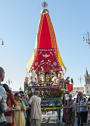 June 3, 2017 - Rome, Italy, Italy - Ratha Yatra, the festival of chariots is one of the oldest religious celebrations in India (originally from Puri, in Orissa) and is held every year in all major cities around the world. (Credit Image: © Patrizia Cortellessa/Pacific Press via ZUMA Wire)