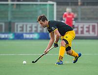 AMSTELVEEN - Gijs Campbell (Den Bosch) tijdens de competitie hoofdklasse hockeywedstrijd mannen, Amsterdam- Den Bosch (2-3).  COPYRIGHT KOEN SUYK