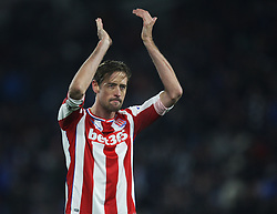 Peter Crouch of Stoke City - Mandatory by-line: Jack Phillips/JMP - 26/12/2017 - FOOTBALL - The John Smith's Stadium - Huddersfield, England - Huddersfield Town v Stoke City - English Premier League