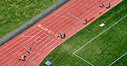 Aerial view of Villanova Sports Track