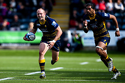 Chris Pennell of Worcester Warriors and Michael Fatialofa of Worcester Warriors - Mandatory by-line: Robbie Stephenson/JMP - 18/05/2019 - RUGBY - Sixways Stadium - Worcester, England - Worcester Warriors v Saracens - Gallagher Premiership Rugby
