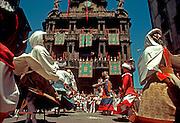 SPAIN, BASQUE, FESTIVALS San Fermin, 'Running of the Bulls'