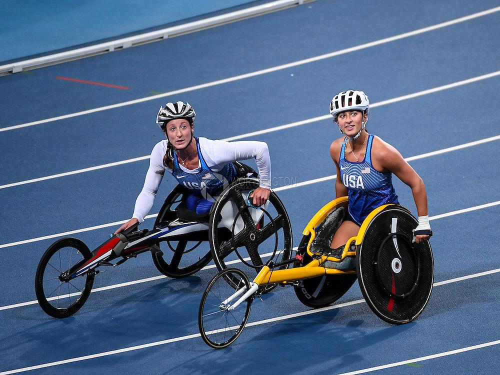 Tatyana McFadden & Hannah McFadden, Track & Field