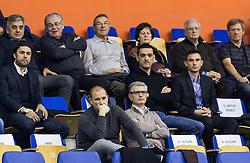 Matej Avanzo and Franjo Bobinac of RK Gorenje during handball match between RK Celje Pivovarna Lasko and RK Gorenje Velenje in Eighth Final Round of Slovenian Cup 2015/16, on December 10, 2015 in Arena Zlatorog, Celje, Slovenia. Photo by Vid Ponikvar / Sportida