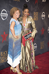 August 6, 2017 - New Jersey, U.S - DEBRA LEE, and TIFFANY HADDISH, at the Black Girls Rock 2017 red carpet. Black Girls Rock 2017 was held at the New Jersey Performing Arts Center in Newark New Jersey. (Credit Image: © Ricky Fitchett via ZUMA Wire)