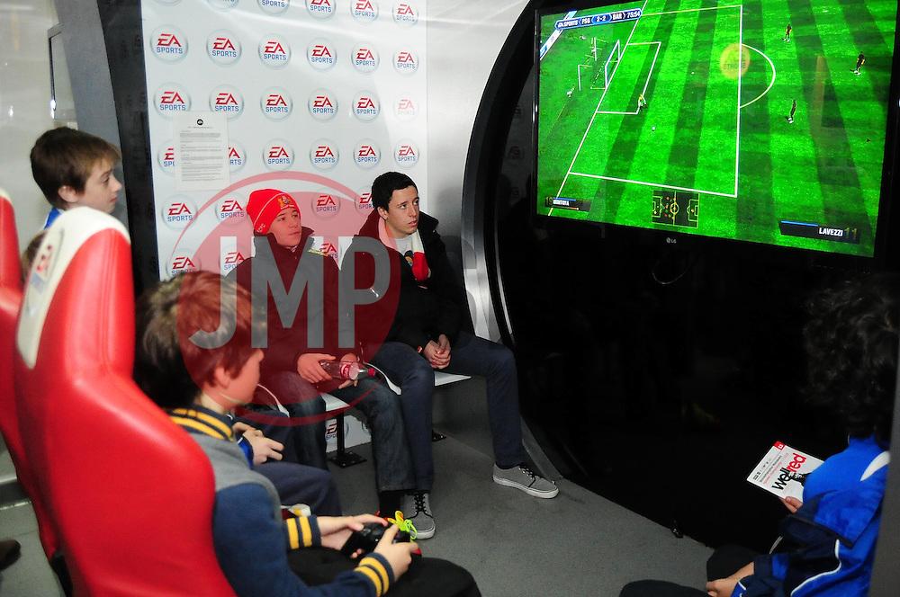 FIFA 13 games room - Photo mandatory by-line: Dougie Allward/Josephmeredith.com  - Tel: Mobile:07966 386802 01/12/2012 - SPORT - FOOTBALL - Championship  -  Bristol  -  Ashton Gate  -  Bristol City V Wolverhampton Wanderers