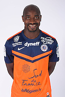 Souleymane CAMARA - 23.07.2014 - Portraits officiels Montpellier - Ligue 1 2014/2015<br /> Photo : Icon Sport