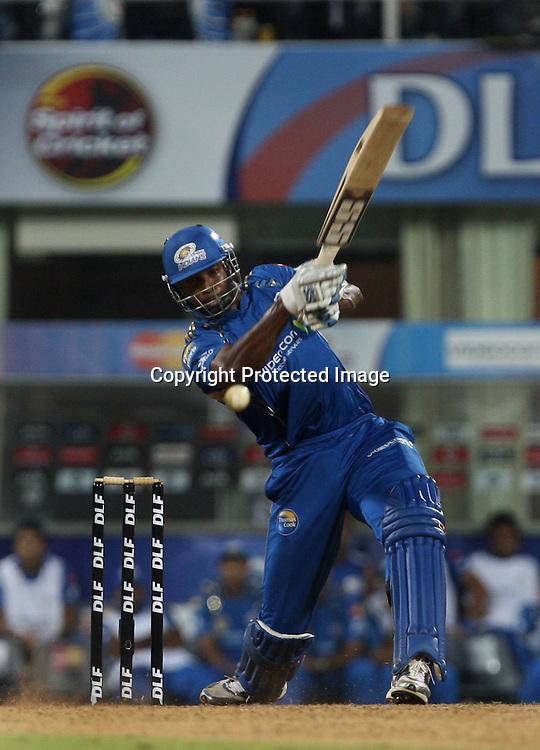 Kieron Pollard, Indian Premier League twenty20 cricket final, Mumbai Indians v Chennai Super Kings, 26 April 2010.
