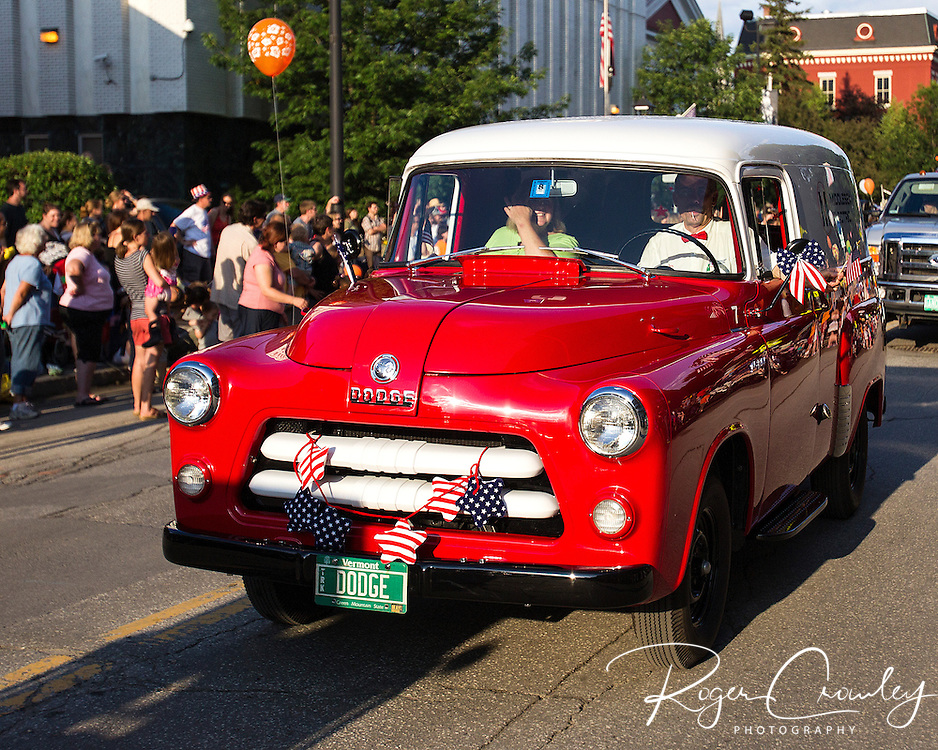July 3rd Parade in Montpelier Vermont 2013.