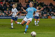 Manchester City Women striker Laura Coombs (7) during the FA Women's Super League match between Tottenham Hotspur Women and Manchester City Women at the Hive, Barnet, United Kingdom on 5 January 2020.