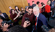 Jeremy Corbyn<br /> <br /> Leader of the Labour Party <br /> <br /> First campaign speech of the 2017 general election followed by Q &amp; A <br /> <br /> at the Assembly Hall, Church House, London, Great Britain <br /> <br /> 20th April 2017 <br /> <br /> <br /> Photograph by Elliott Franks <br /> Image licensed to Elliott Franks Photography Services