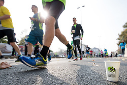 Athletes and a cup during 22nd Ljubljana Marathon 2017 on October 29, 2017 in Ljubljana, Slovenia. Photo by Matic Klansek Velej / Sportida