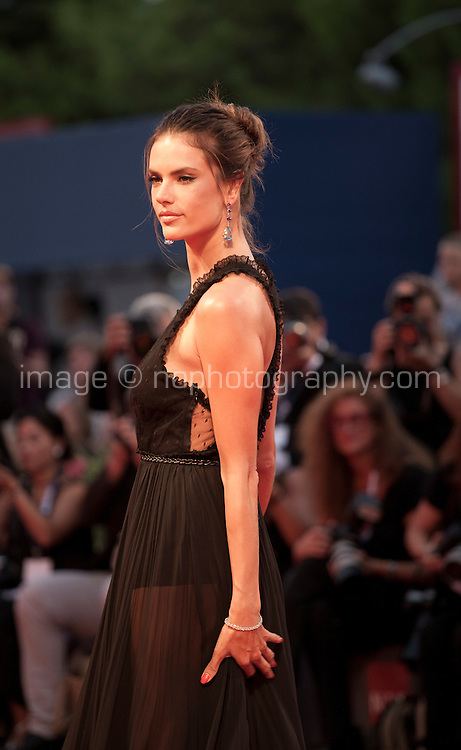 Alessandra Ambrosio at the gala screening for the film Spotlight at the 72nd Venice Film Festival, Thursday September 3rd 2015, Venice Lido, Italy.