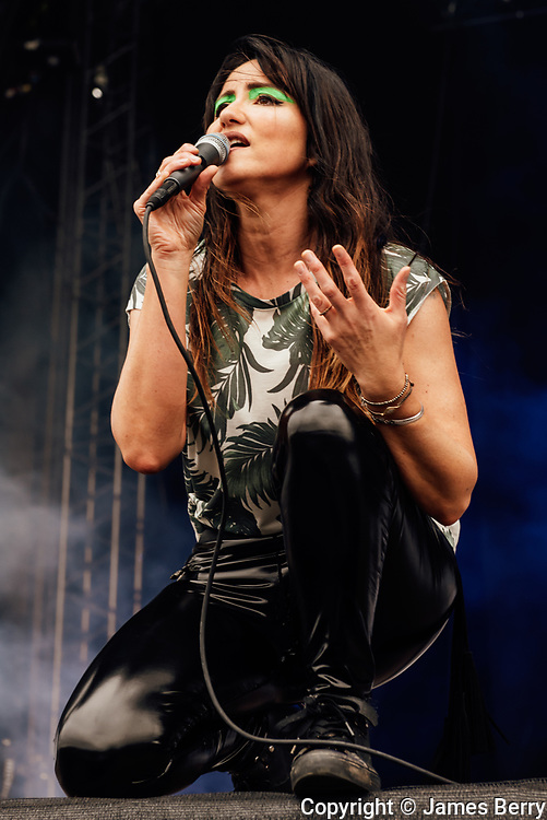 KT Tunstall performs on the main stage at the On Blackheath festival, London, on Sunday 10 September 2017.<br />