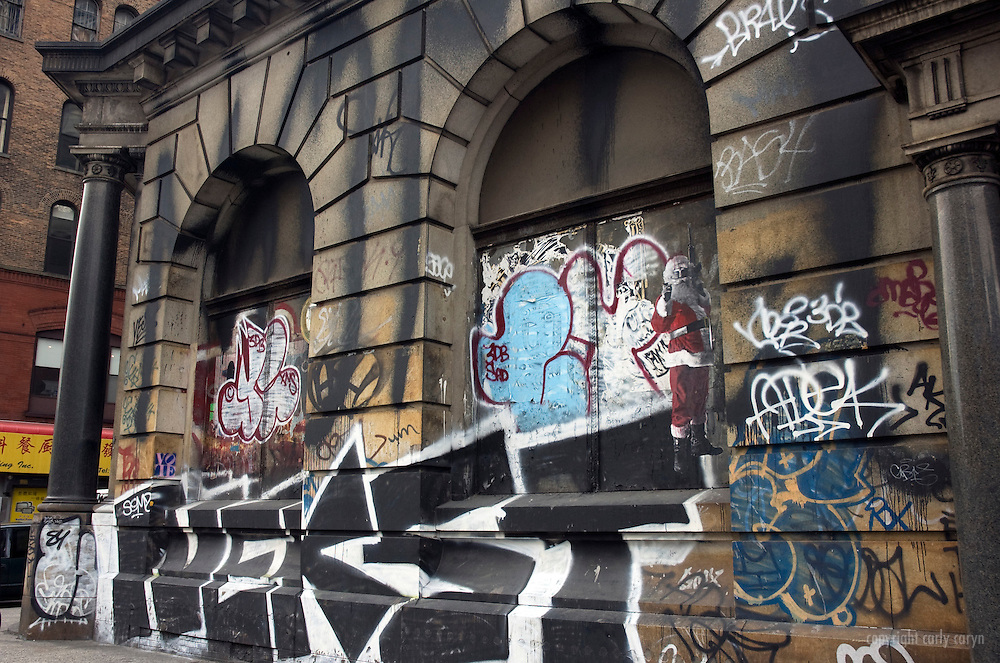 Bowery Graffiti Building