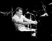 Jerry Lee Lewis performing at the Memphis in May Music Festival. Early 90's.