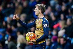 - Mandatory byline: Rogan Thomson/JMP - 13/12/2015 - FOOTBALL - Villa Park Stadium - Birmingham, England - Aston Villa v Arsenal - Barclays Premier League.