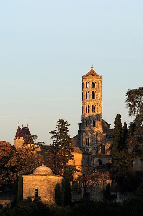 France, Languedoc Roussillon, Gard (30), Uzège, Uzès, tour Fenestrelle, Duché, pavillon Racine
