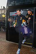 Hull City goalkeeper David Marshall arrives at Ewood Park, Blackburn ahead of during the FA Cup match between Blackburn Rovers and Hull City<br /> Picture by Matt Wilkinson/Focus Images Ltd 07814 960751<br /> 06/01/2018