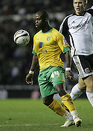 Derby - Tuesday October 28th, 2008: Leroy Lita of Norwich City in action against Derby County during the Coca Cola Championship match at Pride Park, Derby. (Pic by Michael Sedgwick/Focus Images)
