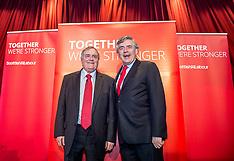 Gordon Brown and John Prescott | KIrkcaldy | 13 May 2017