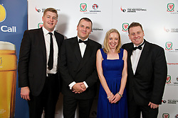 CARDIFF, WALES - Monday, October 6, 2014: Wales' xxxx at the FAW Footballer of the Year Awards 2014 held at the St. David's Hotel. (Pic by David Rawcliffe/Propaganda)