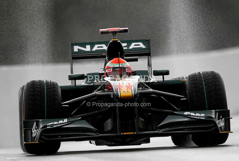 Motorsports / Formula 1: World Championship 2010, GP of Belgium, 18 Jarno Trulli (ITA, Lotus F1 Racing),