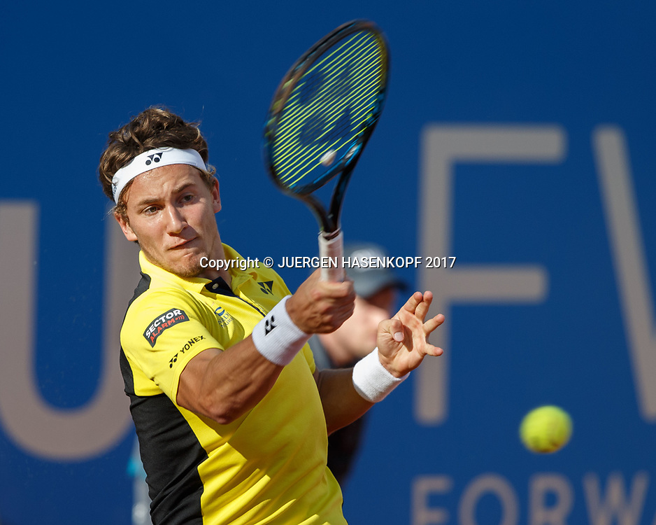 CASPER RUUD (NOR)<br /> <br /> Tennis - BMW Open2017 -  ATP  -  MTTC Iphitos - Munich -  - Germany  - 2 May 2017.