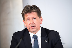 "25.02.2019, Innenministerium, Wien, AUT, Bundesregierung, Pressekonferenz zum Thema ""Aktuelles aus dem Bereich Asyl und Fremdenwesen, im Bild Wolfgang Taucher (Leiter der Gruppe V/C ""Asyl und Rückkehr"") // during a media conference at the interior ministry due to asylum topic in Vienna, Austria on 2019/02/25, EXPA Pictures © 2019, PhotoCredit: EXPA/ Michael Gruber"
