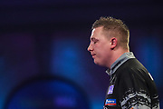 Chris Dobey during the PDC William Hill World Darts Championship at Alexandra Palace, London, United Kingdom on 19 December 2019.