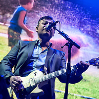 The Manic Street Preachers in concert at The SSE Hydro, Glasgow, Scotland, Britain, 21st May 2016