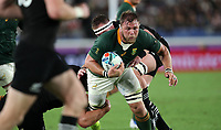 Rugby Union - 2019 Rugby World Cup - Pool B: New Zealand vs. South Africa<br /> <br /> Duane Vermeulen of South Africa at the International Stadium Yokohama, Yokohama City.<br /> <br /> COLORSPORT/LYNNE CAMERON